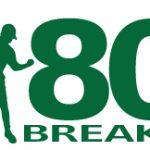 logo of 80BREAKR golf scorecard app