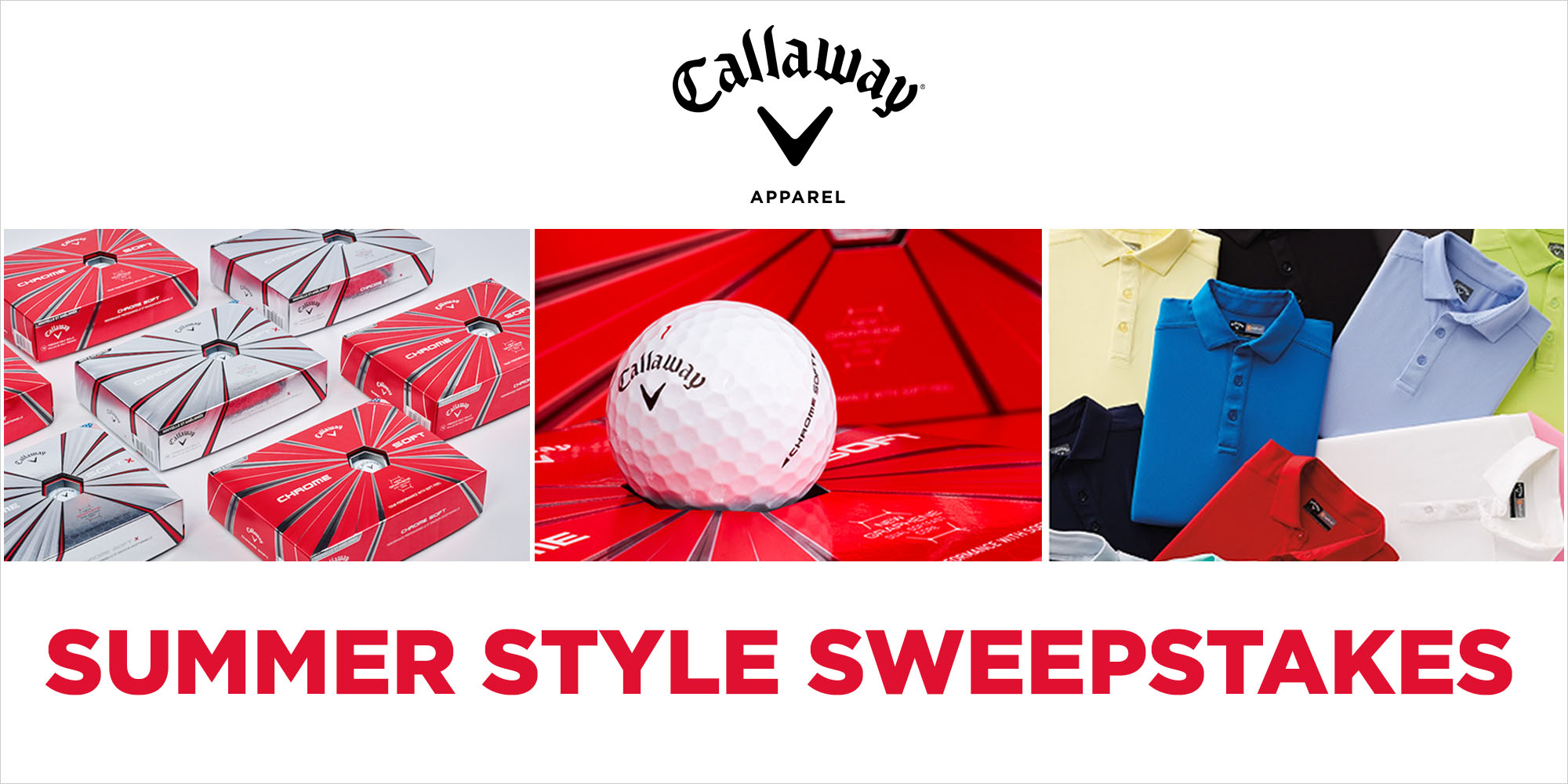 Callaway Apparel Summer Sweepstakes - The Golf Wire