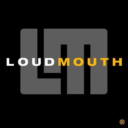logo of LoudMouth Golf Apparel company