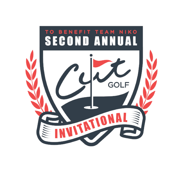 Logo of Cut Golf's Second Annual Cut Golf Invitational golf tournament