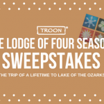 LODGE OF FOUR SEASONS SWEEPSTAKES