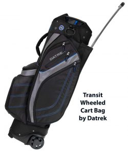 Datrek Announces Two New Golf Bags For 2019 Transit Wheeled Cart Bag And Updated Lite Rider Pro
