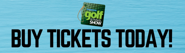 Promo graphic of the Toronto Golf and Travel Show