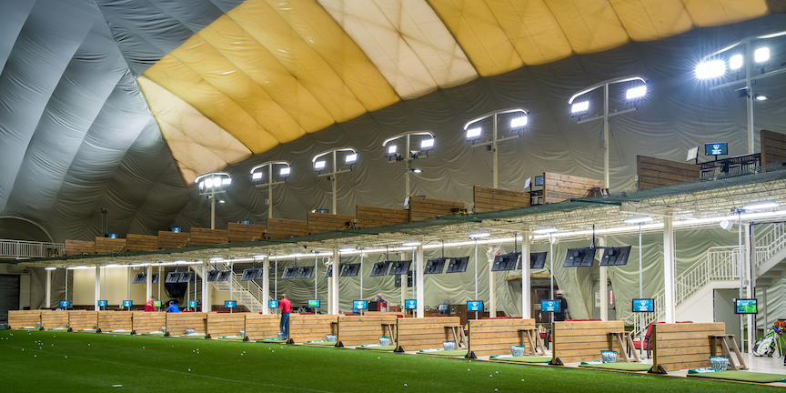 picture of the Mistwood Golf Dome
