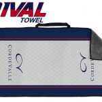 2 Towels in 1 – Dual-Sided Microfiber Towel