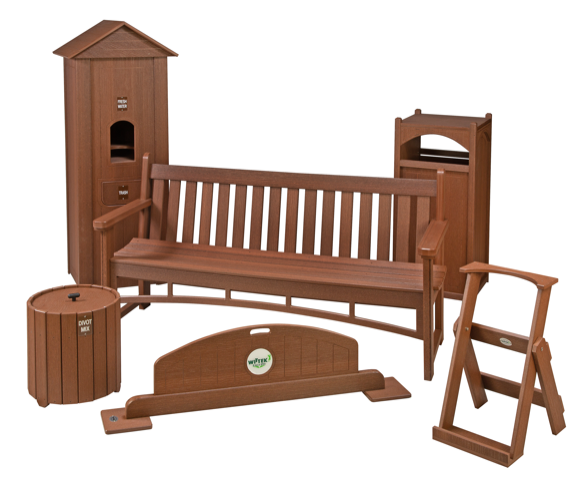 picture of the Wittek Walnut furniture collection