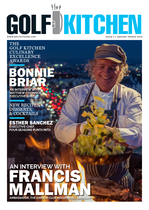 cover image of the Golf Kitchen Magazine