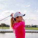 Creamer Joins SKYiGOLF as first brand ambassador, booth appearance at PGA.