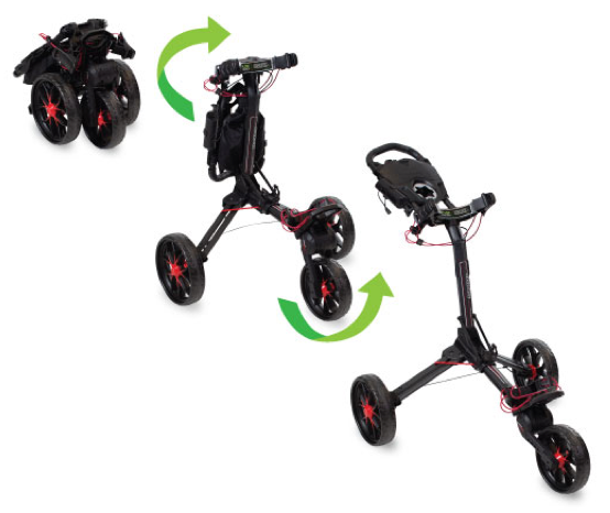 The Nitron Push Cart by Bag Boy