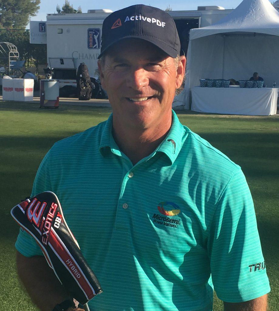 head shot of professional golf Scott Mccarron