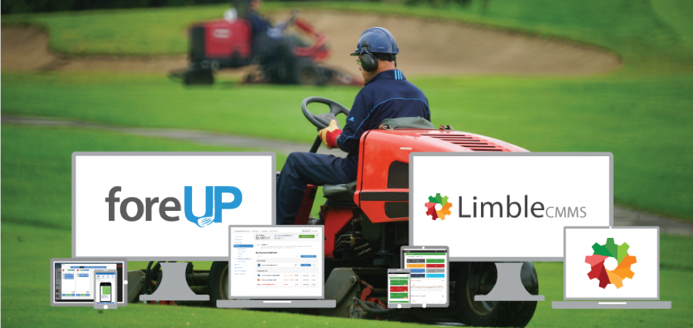 picture of foreUP software upgrade with Limble