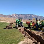 Tee And Drainage Improvements At Sandia Golf Club