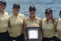 picture of the Wake Forest University Ladies Golf Team