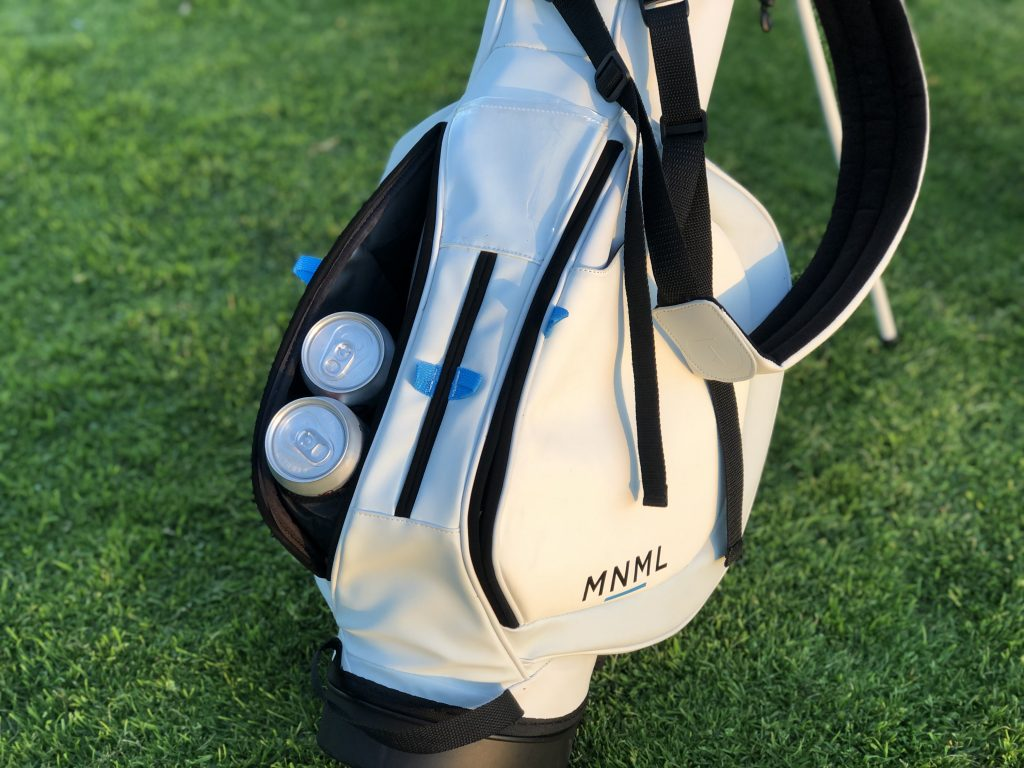 Mnml Kickstarts A New Tech Integrated Bag The Golf Wire
