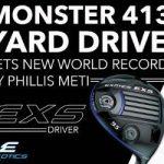Phillis Meti Sets New Monster World Record Longest Drive
