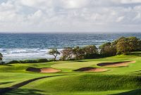 picture from the 17th Tee of Wailua Golf Course, Kaua'i