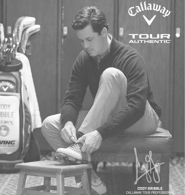 Picture of Cory Gribble, a Callaway Tour Professional Golfer