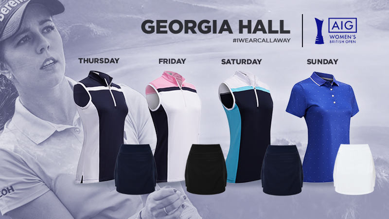 Georgia hall apparel Script