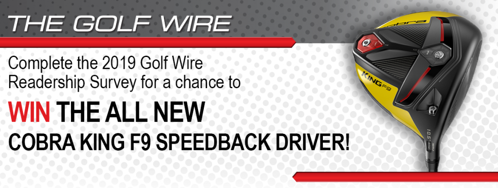 picture of the promo for the Golfwire Readership Survey