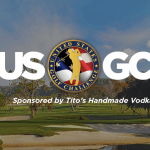 Hanlin and Gulbis set stage for filming at USGC Major