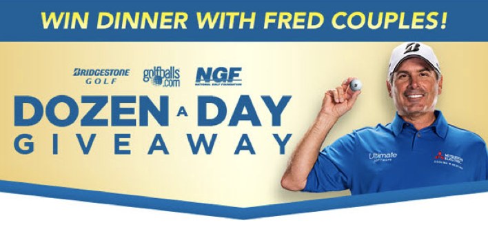 Golfballs com Launches 'Dozen a Day' Sweepstakes - The Golf Wire