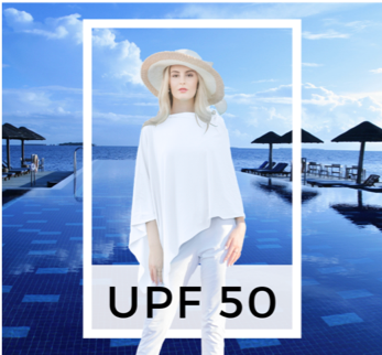 UPF50 Sun Protector Poncho
