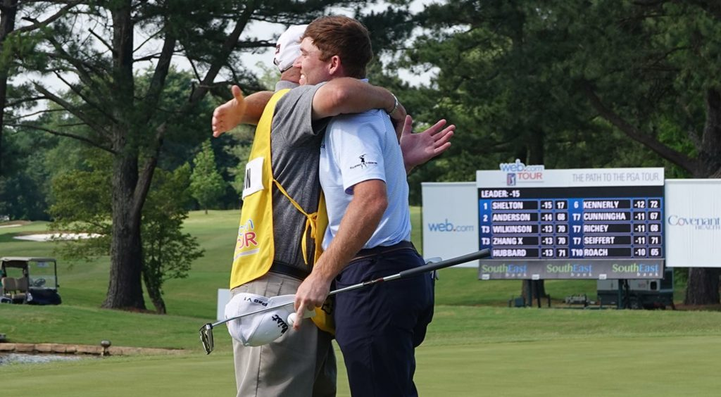pga golf pro Robby Shelton