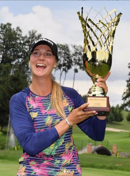 picture of female golfer Sanna Nuutinen