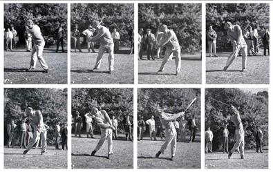 Celebrating Ben Hogan's Birthday, when the perfect golf swing was