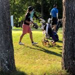 BIG MAX  push cart joins AJGA at events
