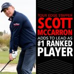 Tour Edge Exotics clubs in the bag of PGA Tour Champions #1 Player