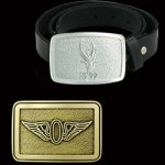 Unique Gift Idea from Malcolm DeMille: Custom Belt Buckles