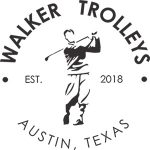 Logo for walker trolleys, a golf push cart company based in Austin, Texas.