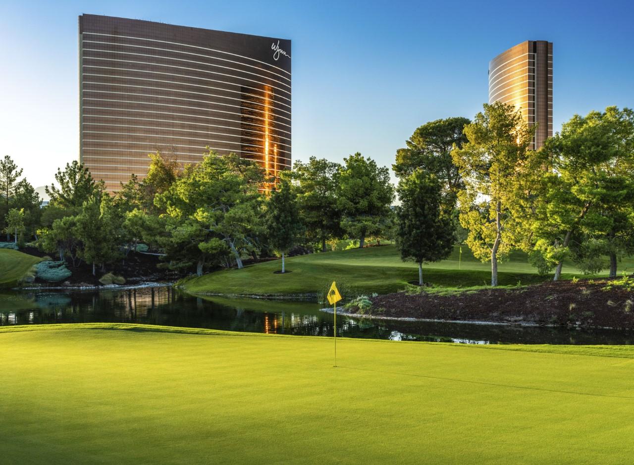 Wynn Golf Club in Las Vegas (PHOTO BY BRIAN ORR)