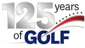 logo for USGA 125 years of golf