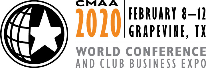 logo for the 2020 World Conference and Club Business Expo