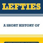 Book jacket of 'Lefties: A Short History of Left-Handed Golfers'