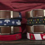 Nexbelt Limited Edition Holiday Ratchet-Style Ribbon Belts Now Available
