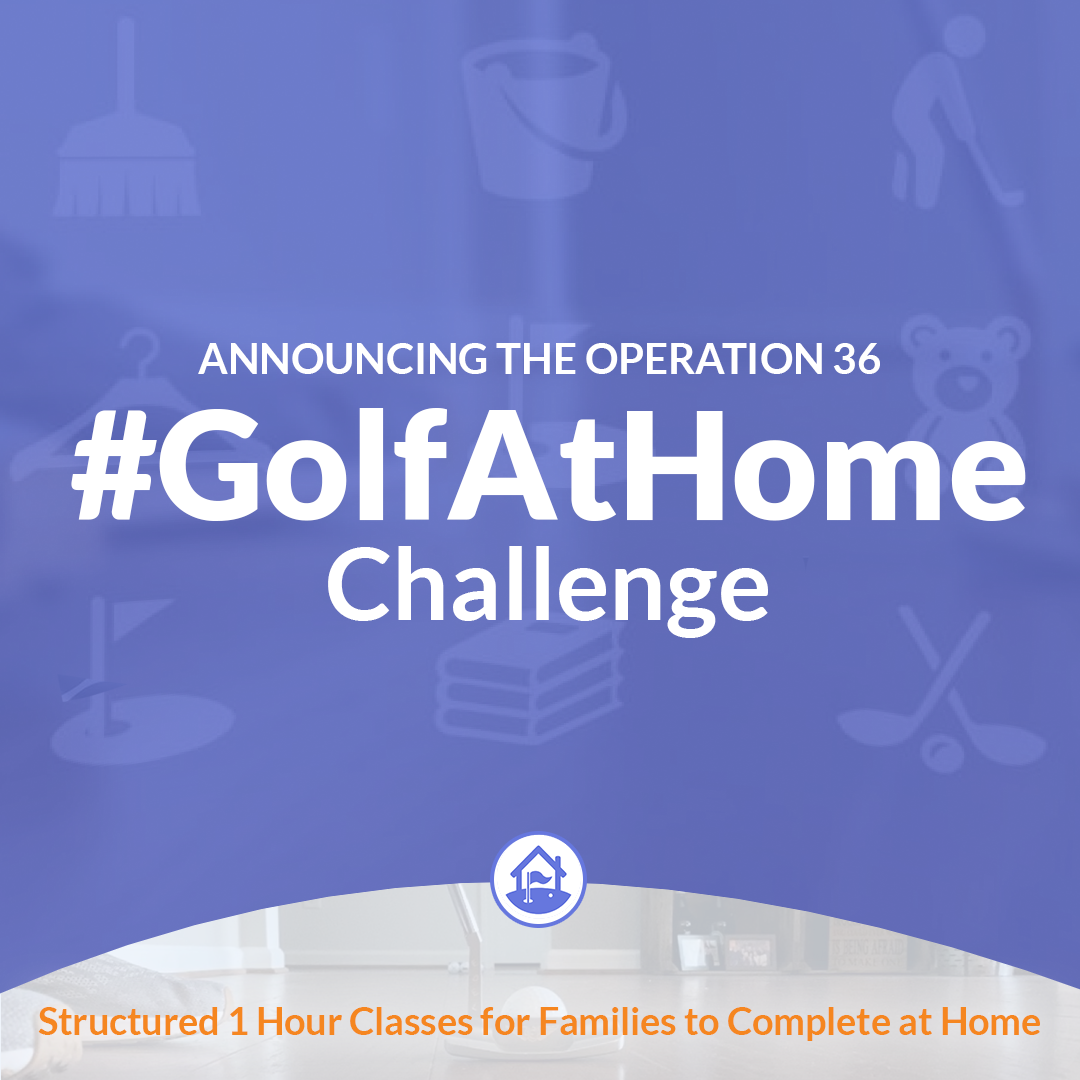 picture of the #golfathome challenge