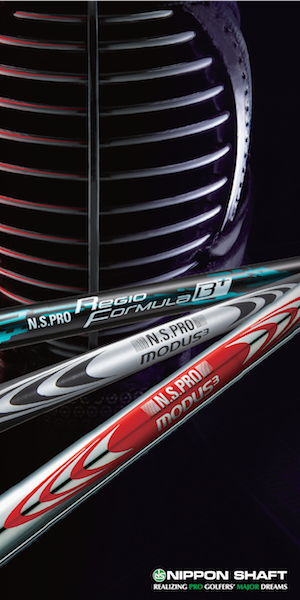 Advertisement from Nippon Golf Shafts