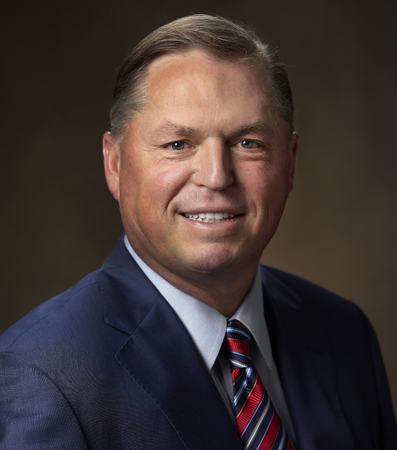 headshot of Troon's Senior Vice President of Operations, Jim Richerson, PGA was sworn-in as the 42nd President of the PGA of America