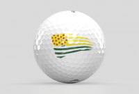 limited-edition Veterans Flag Golf Ball to benefit PGA Hope, made by Oncore Golf