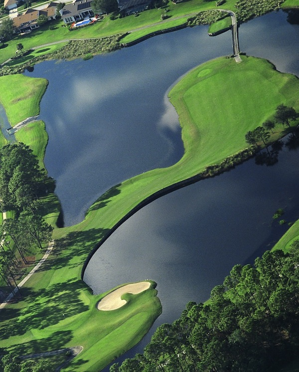 Hole no. 2 at Timacuan Golf And Country Club in Lake Mary, FL.