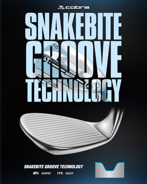 KING COBRA Wedge with Snakebite Groove Technology