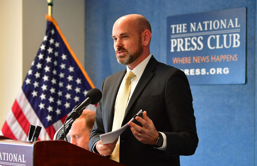 picture from Press Conference on the U.S. Golf Economy Report