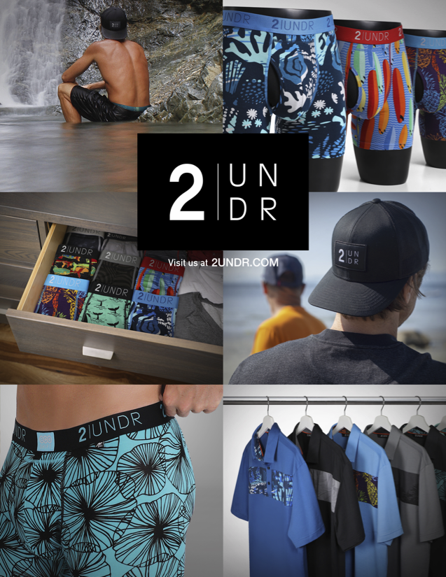 picture of the 2UNDR 2021 Summer Collection