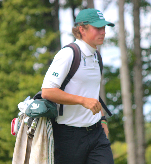 Picture of Michigan State University's men's golf James Piot