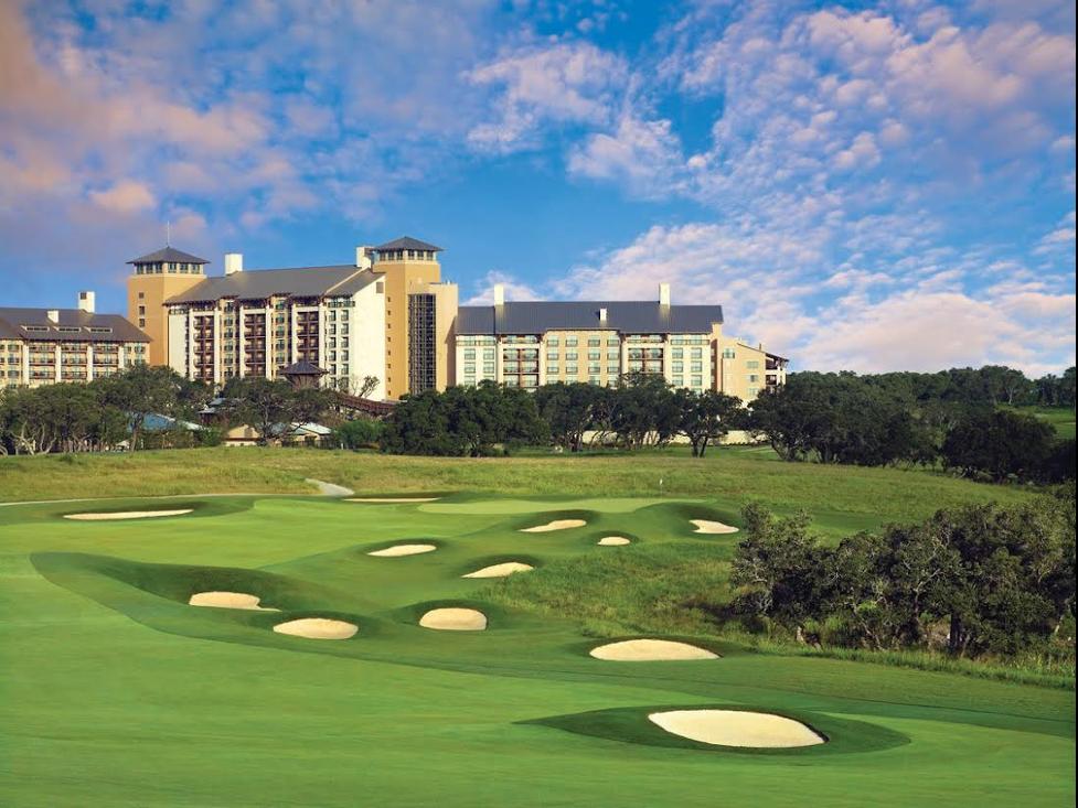 Golf hole at TPC-San-Antonio